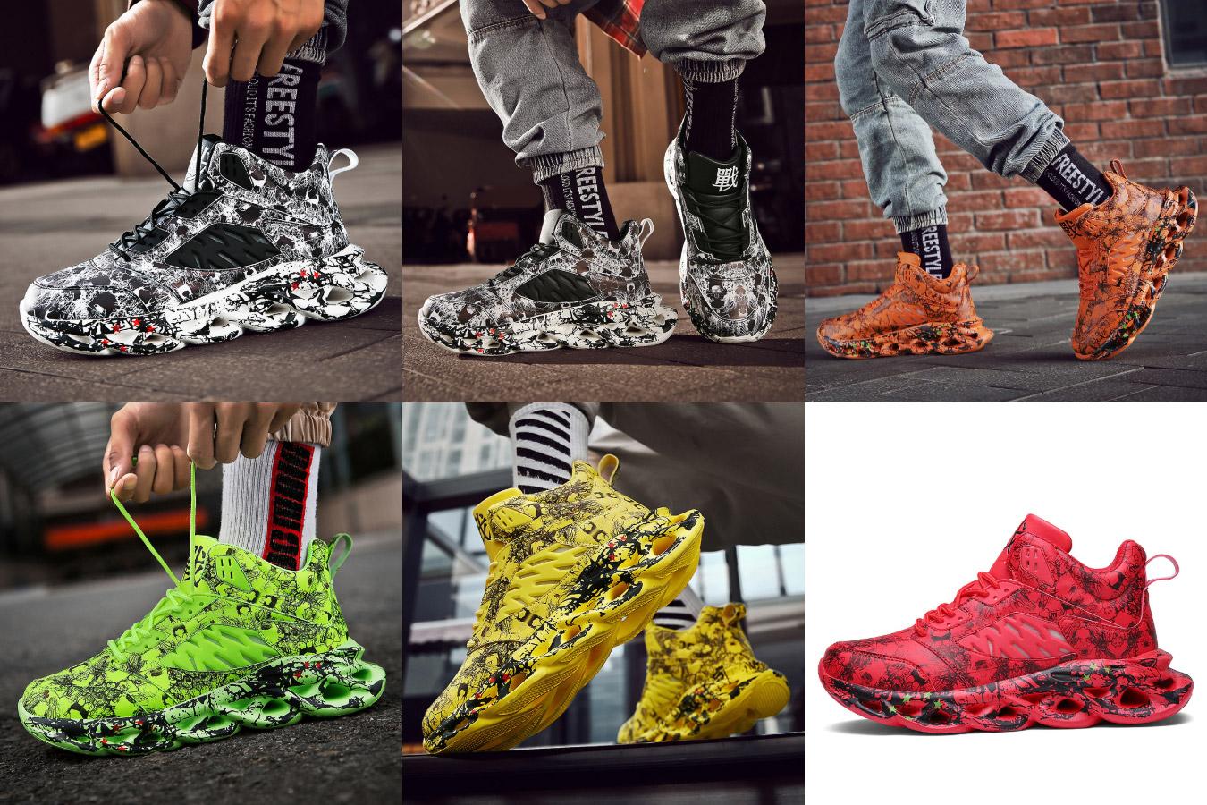 Мужские кроссовки в стиле хип-хоп