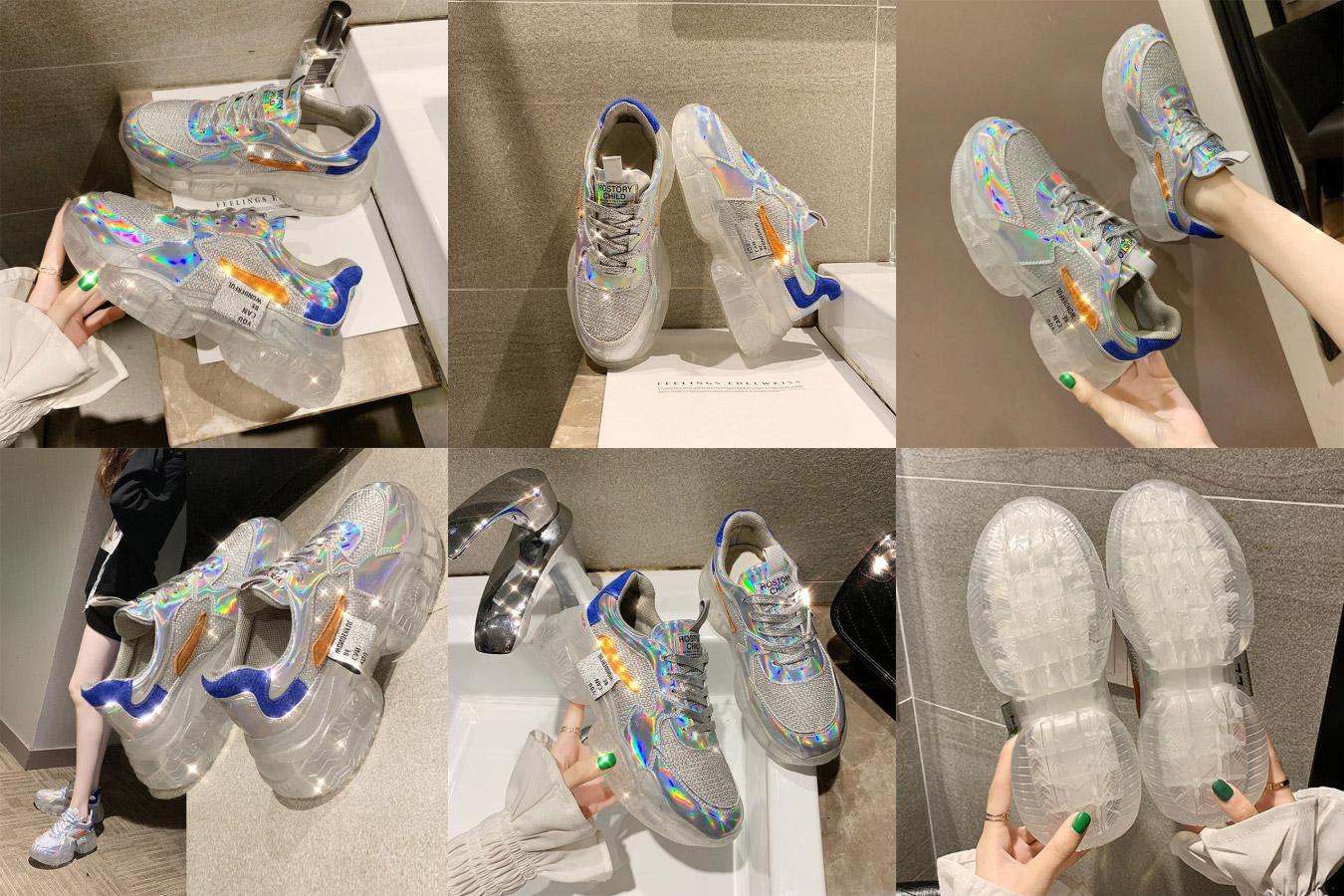 Прозрачные кроссовки