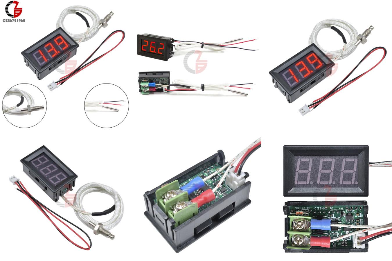 Высокотемпературный цифровой термометр