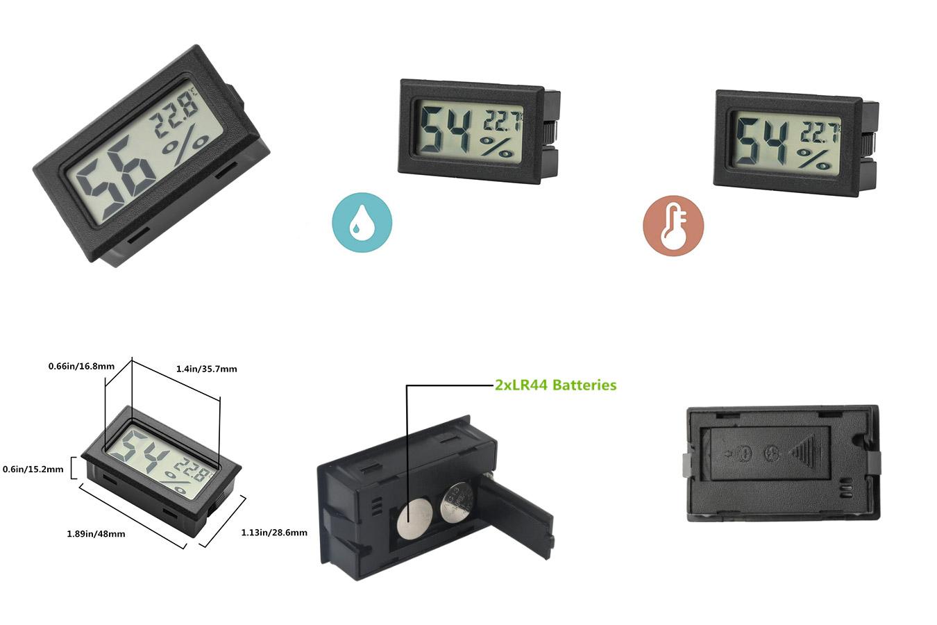 Карманный цифровой датчик температуры