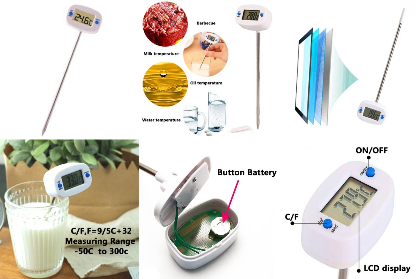Надежный термометр для пищи