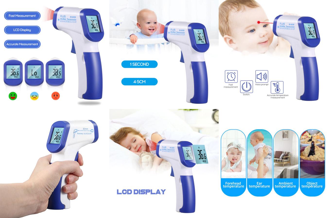 Инфракрасный прибор для измерения температуры тела