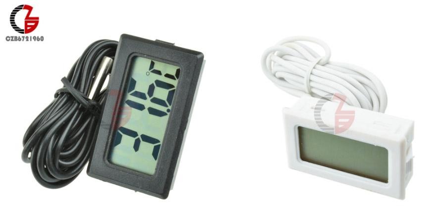 Компактный дешевый термометр