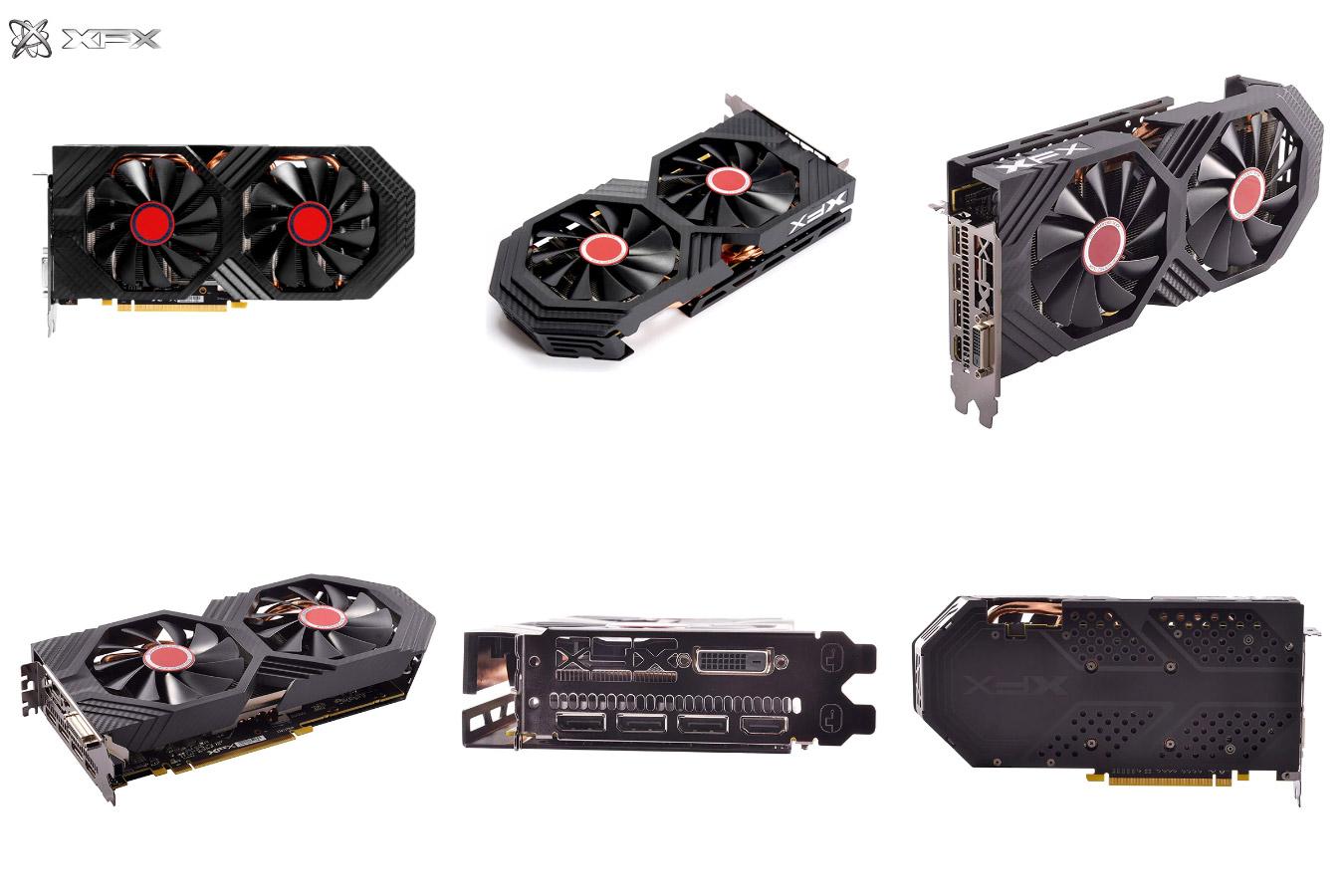 Видеокарта с чипсетом от AMD RX 580 8GB