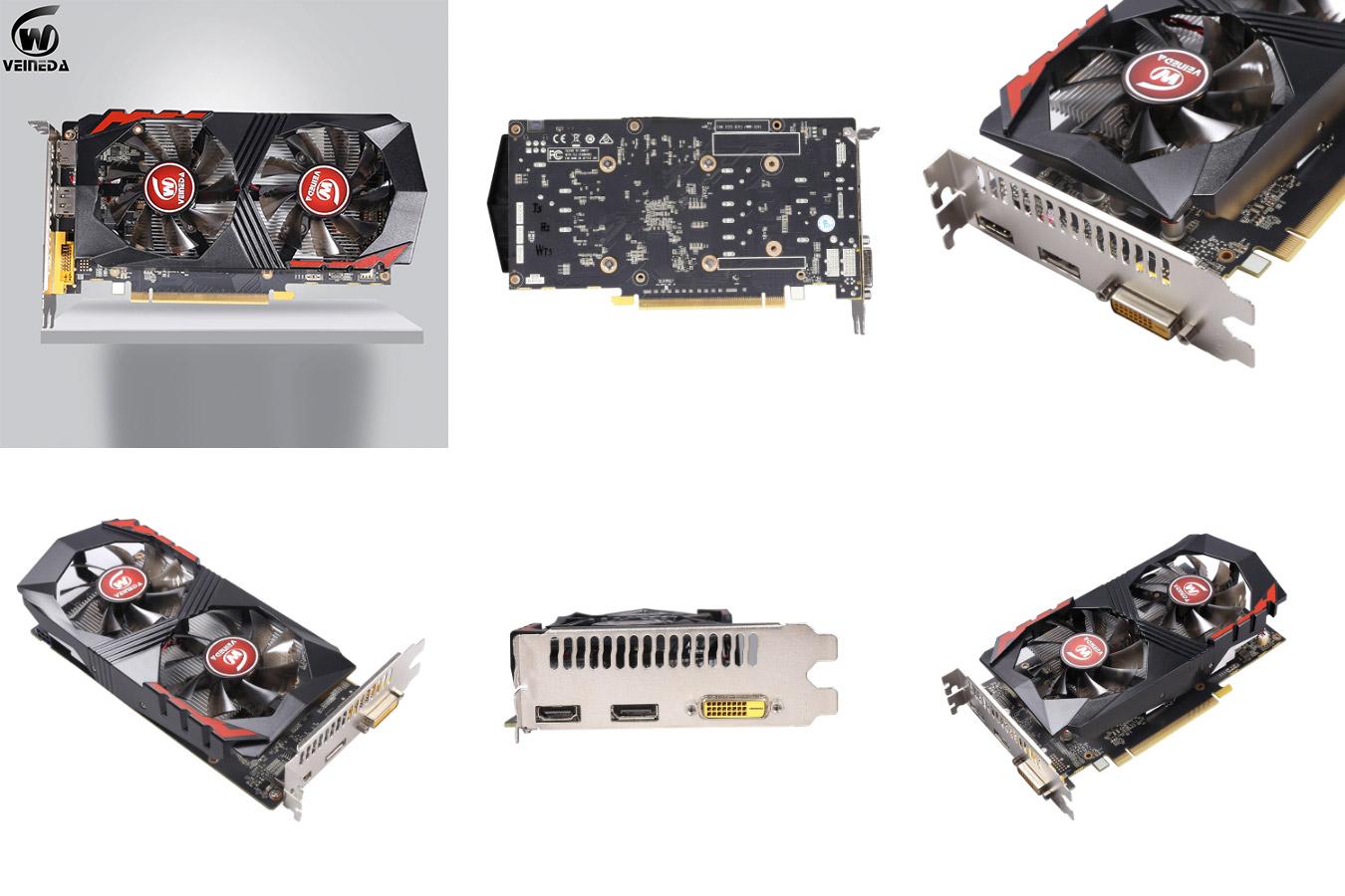 Оригинальная видеокарта GeForce GTX 1050 Ti