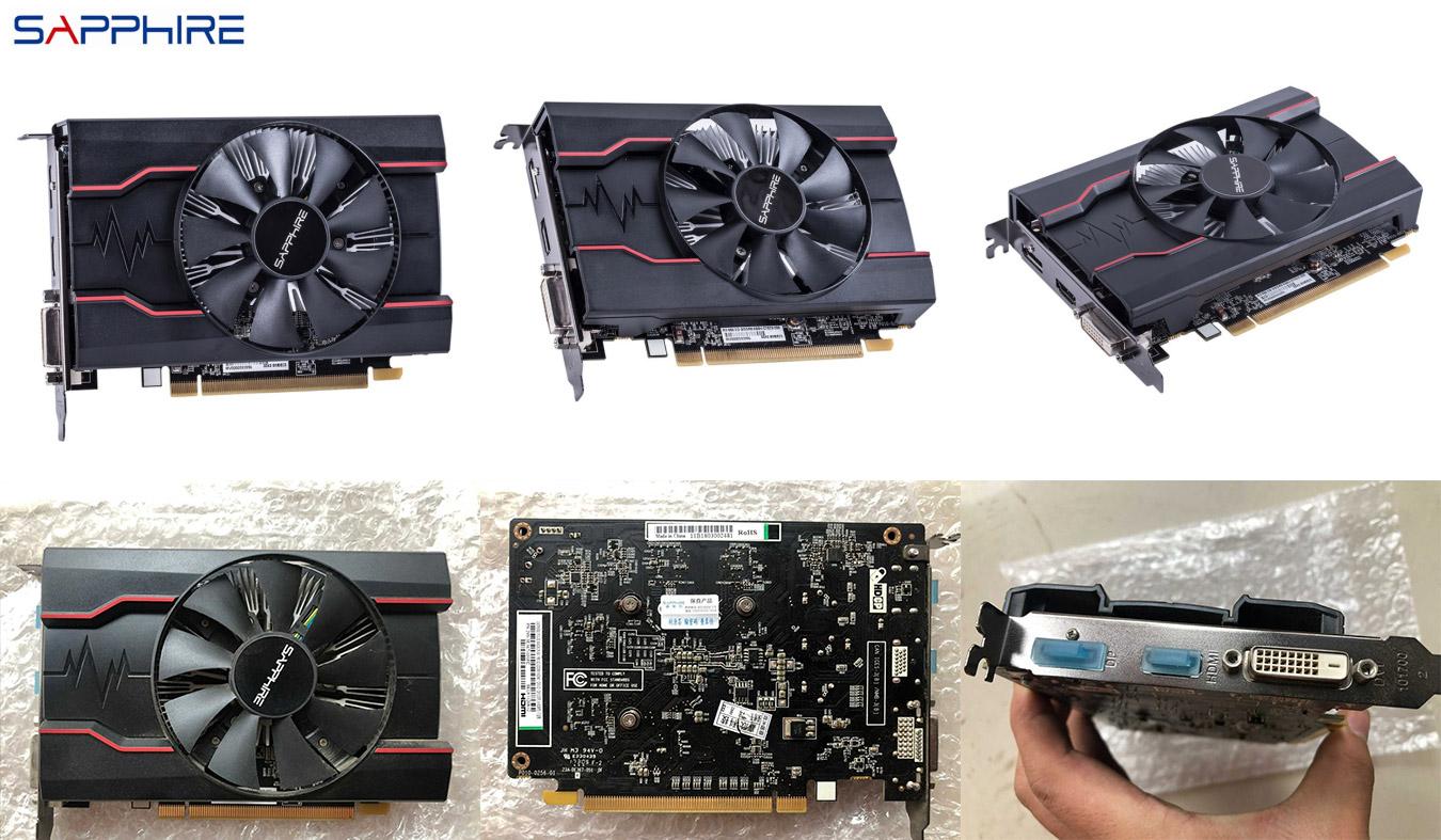 Видеокарта для геймеров Radeon RX550