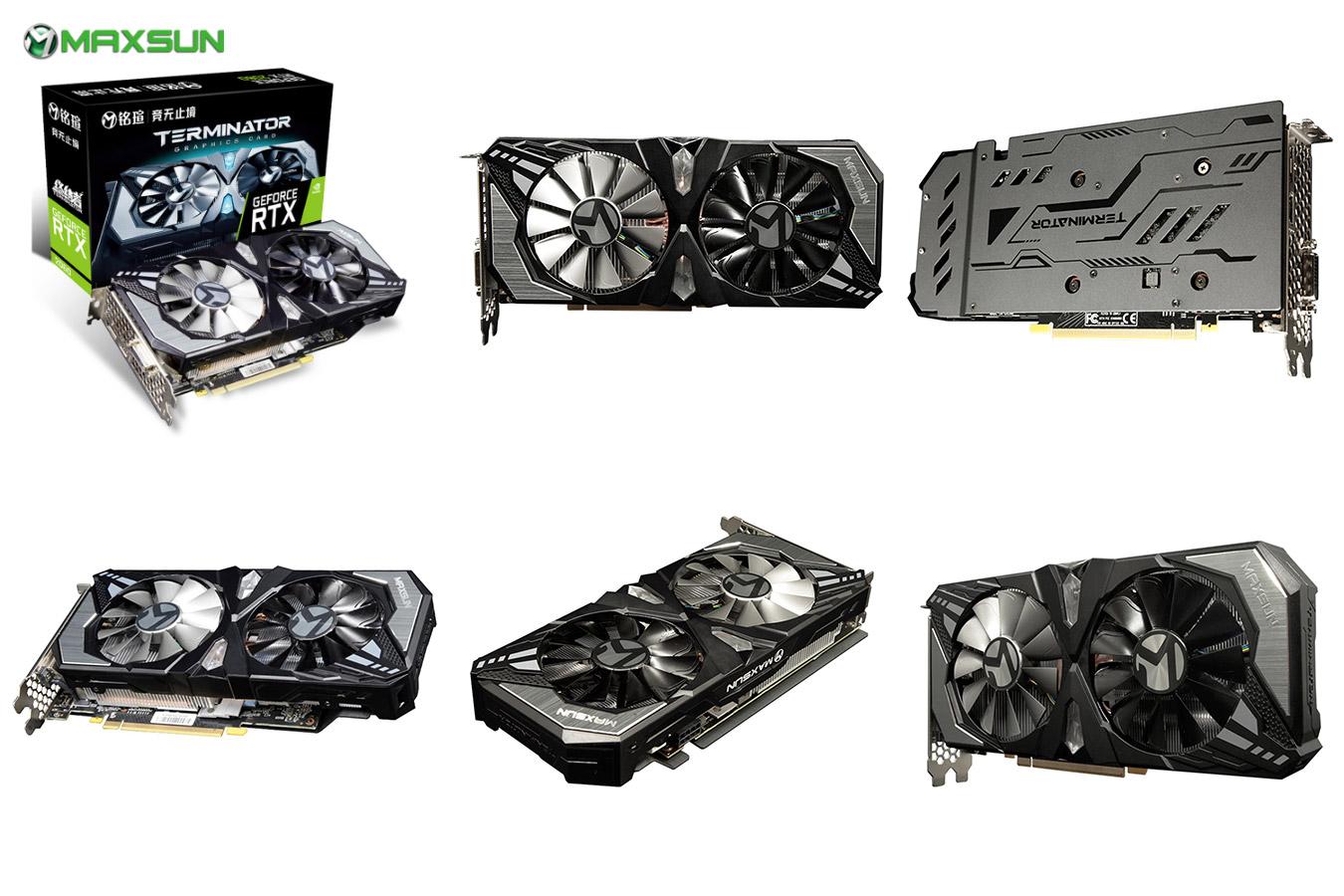 Новая игровая видеокарта Geforce RTX2060
