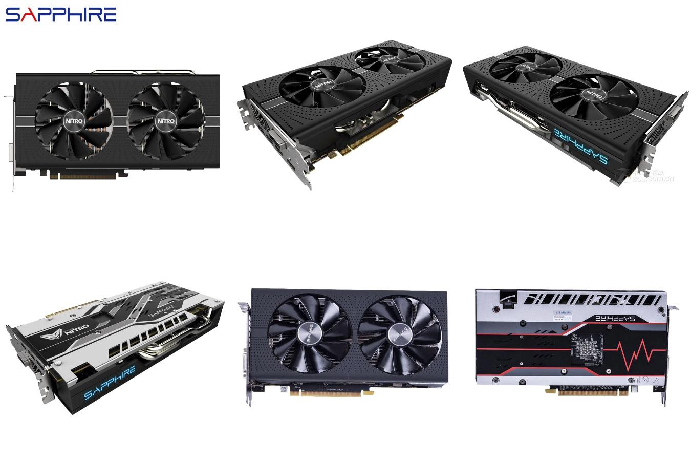 Простая видеокарта Radeon RX580