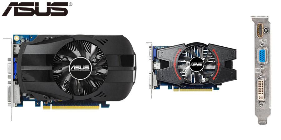 Оригинальная видеокарта ASUS GeForce GT 630