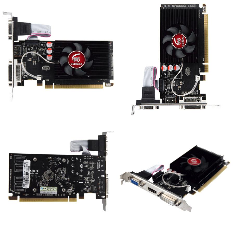 Недорогая видеокарта Veineda Radeon HD6450