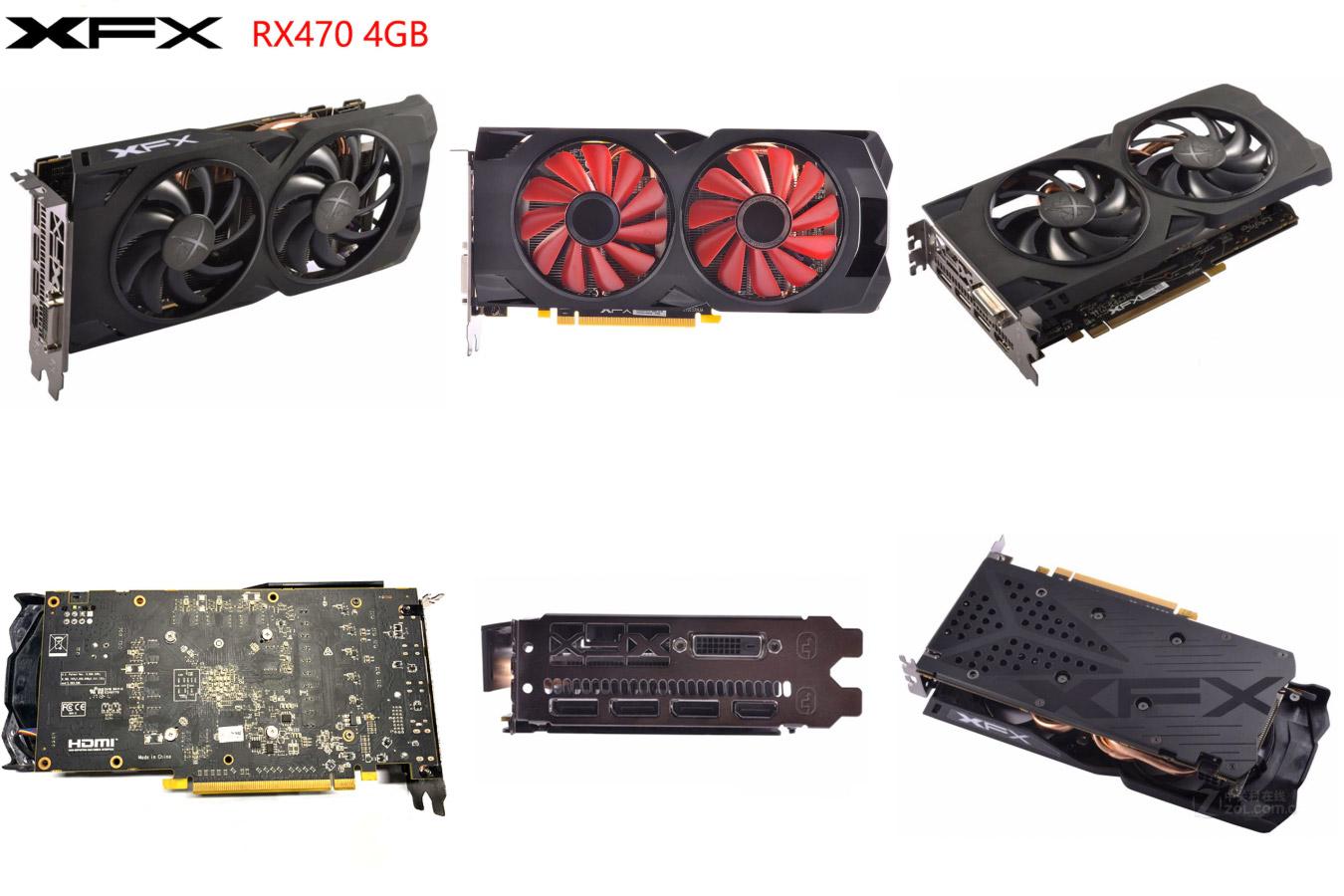Видеокарта AMD Radeon RX470