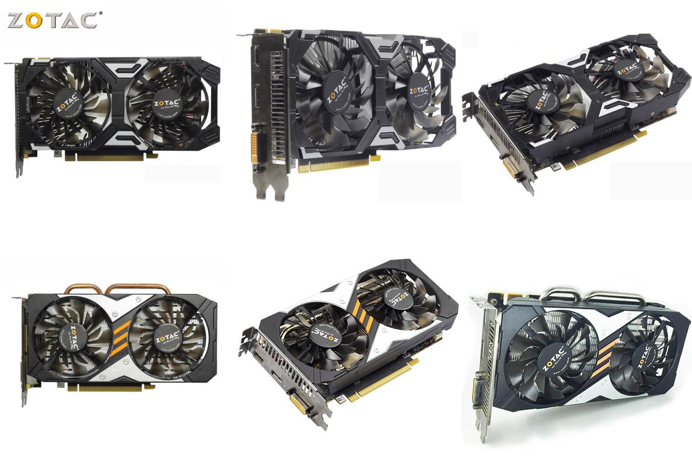 Качественная видеокарта ZOTAC GeForce GTX 950