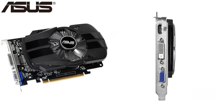 Бесшумная видеокарта Asus GeForce GTX 750