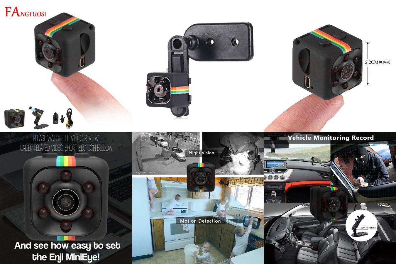Лучшая мини-камера FANGTUOSI SQ11