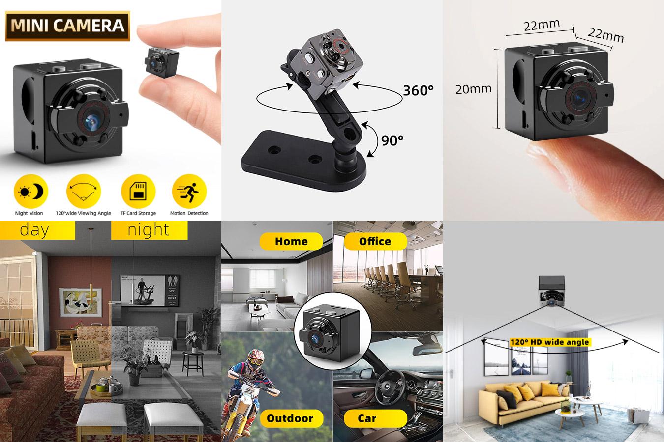 Бюджетная мини-камера SDETER