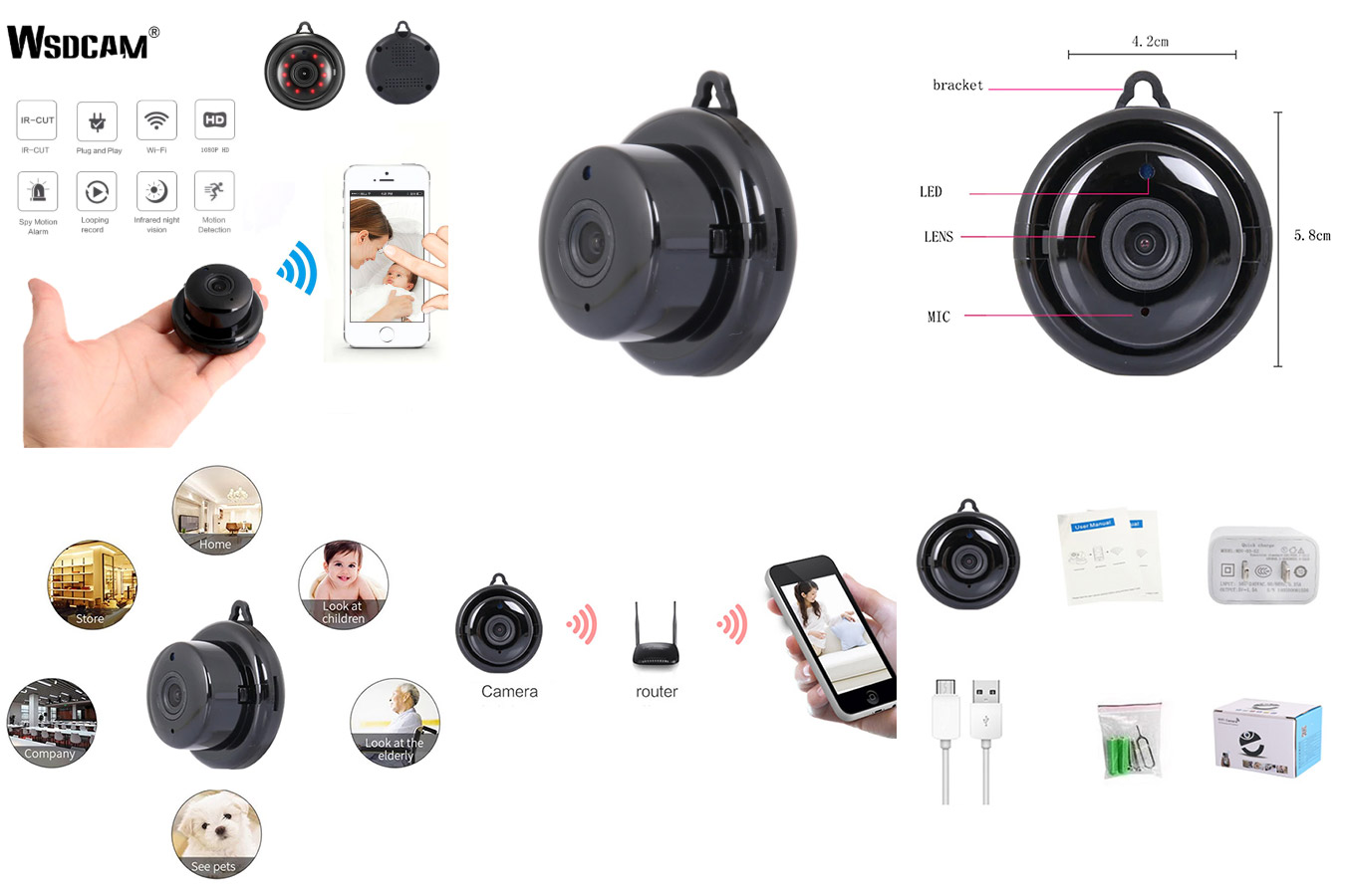 Качественная мини-камера wsdcam
