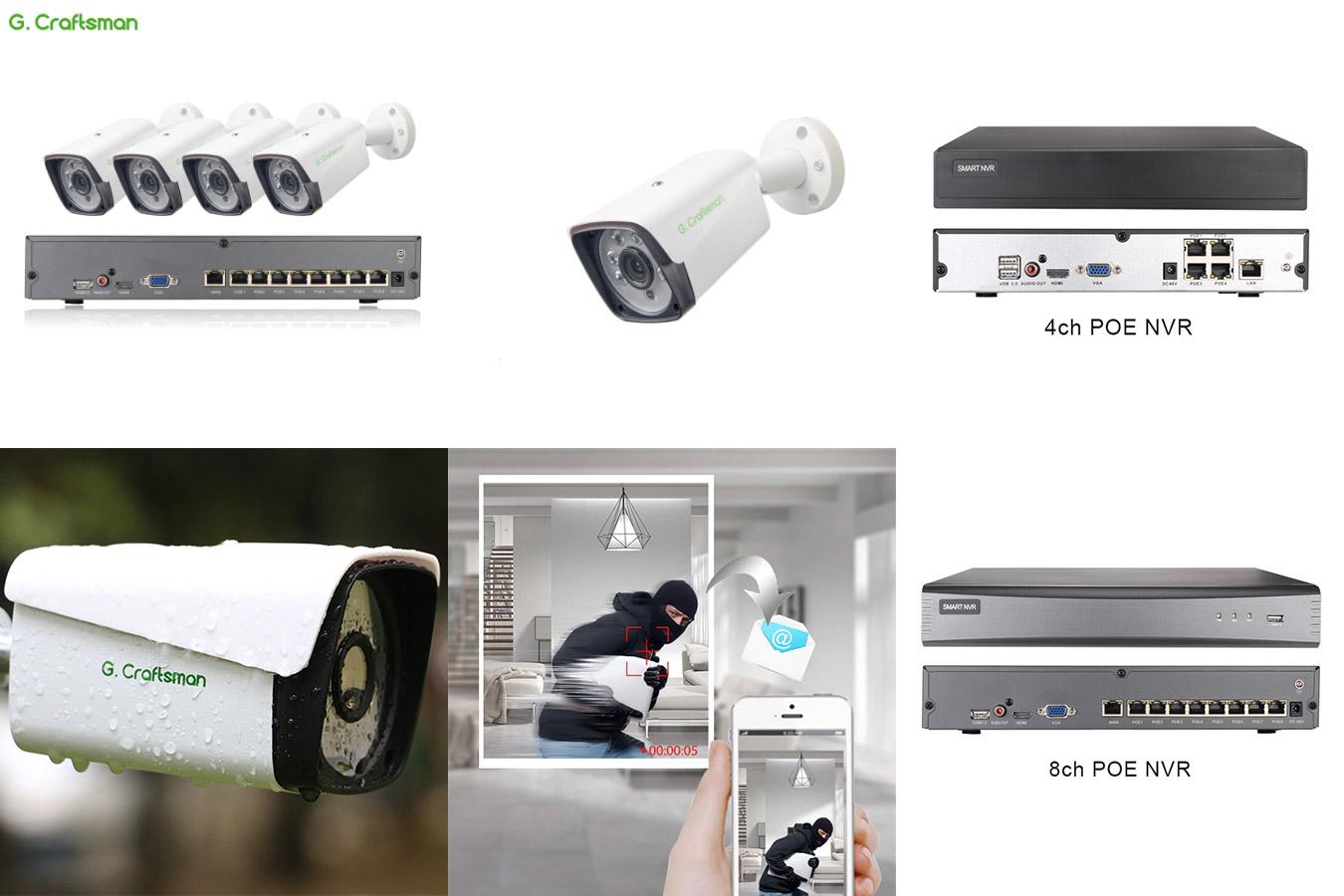 Мощная система видеонаблюдения G.Craftsman