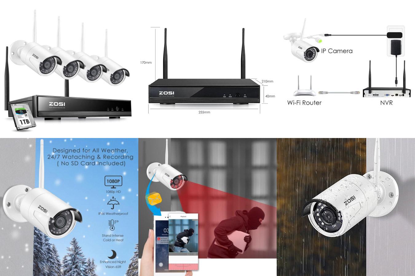 Система видеонаблюдения ZOSI