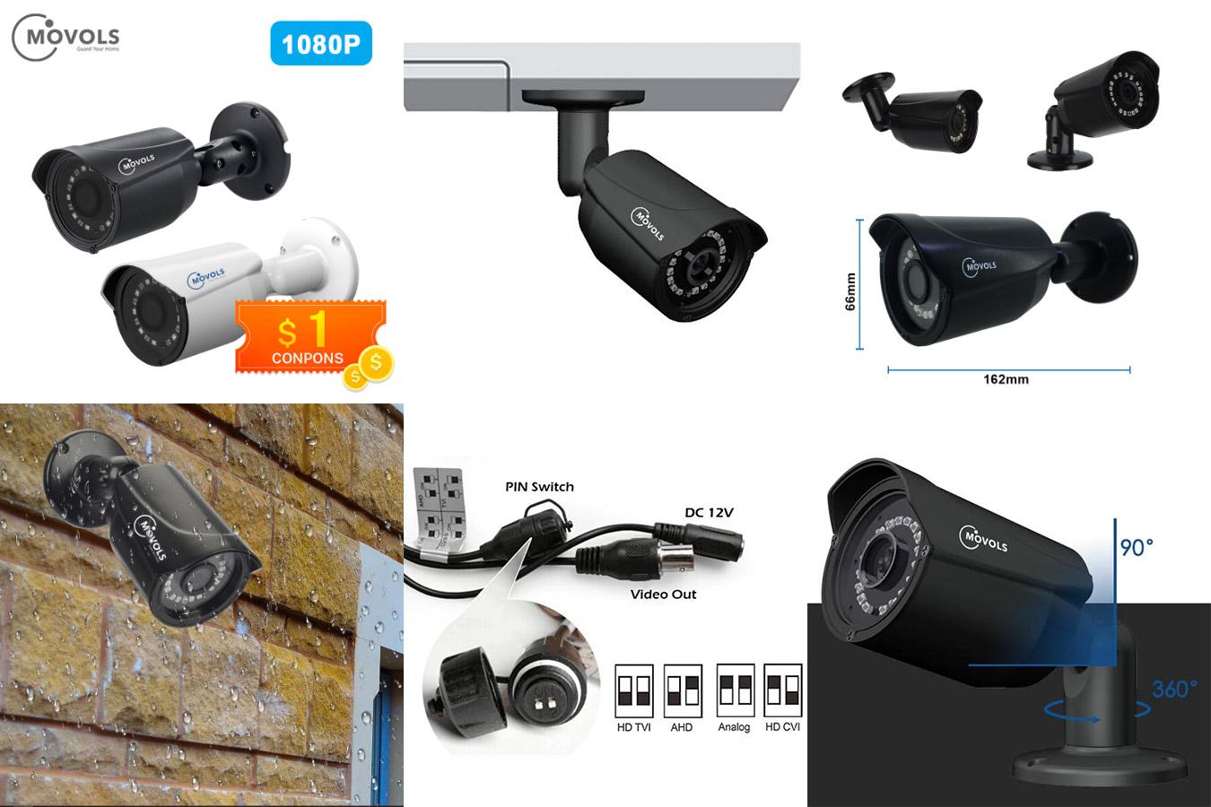 Наружная камера безопасности Movols