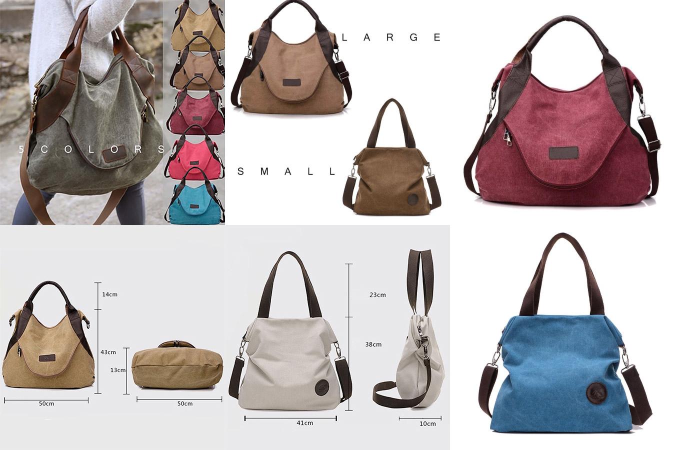 Вместительная дизайнерская сумка