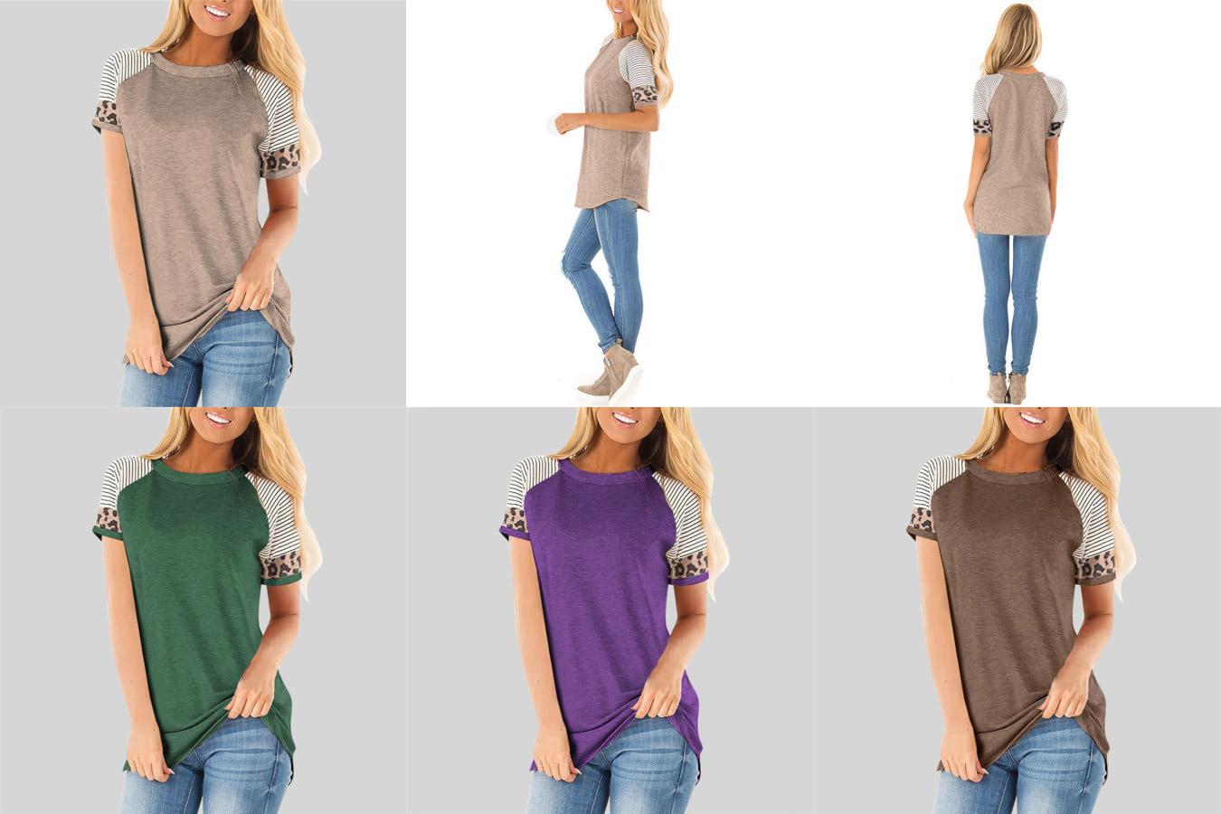 Женская футболка с рукавом реглан