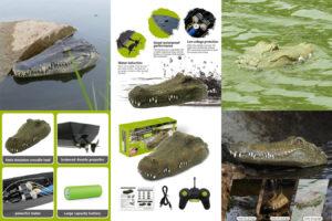 Радиоуправляемая голова крокодила