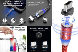 Магнитный USB-кабель с алиэкспресс