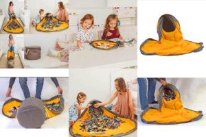 Сумка-коврик для игрушек