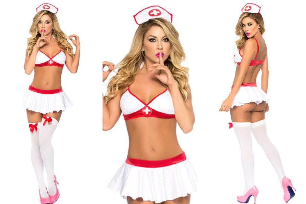 Ролевые игры медсестра комплект белья женского