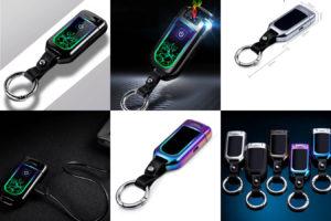 USB зажигалка брелок