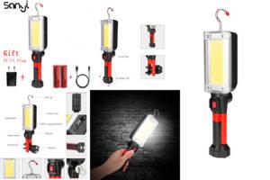 Удобный ручной светильник