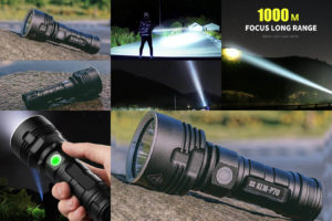 Мощный фонарик с 26650