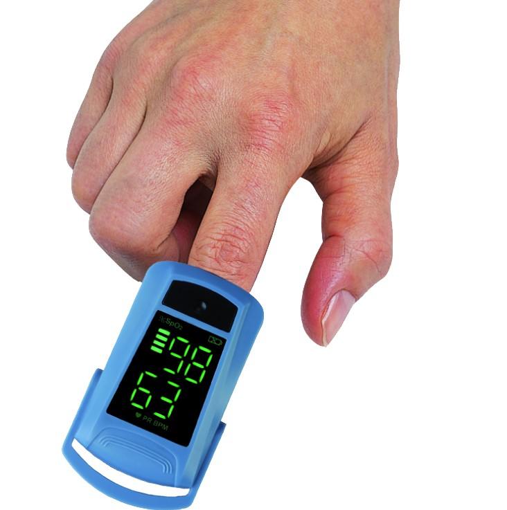 Пульсоксиметр на пальце