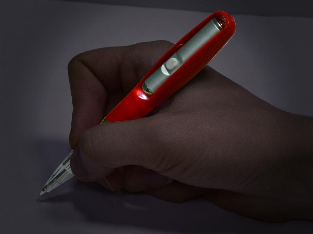 ручка сфонариком