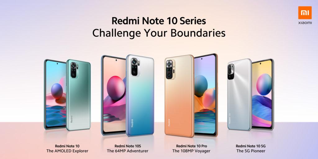 Обзор и сравнение линейки смартфонов Xiaomi Redmi note 10